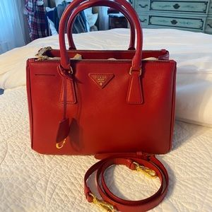 PRADA galleria saffiano leather bag